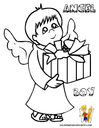 christmas angels coloring pages to print coloring home