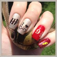 cartoon heart nail art design tutorial 21 harry potter nail art designs that will leave you spellbound