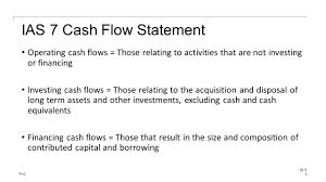 objectives of cash flow statement requirements of the standard ias 7 ppt video online download ias 7 cash flow statement