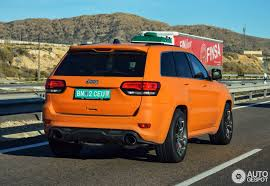 orange jeep 2016 jeep grand cherokee srt 8 2013 23 january 2016 autogespot