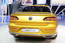 volkswagen arteon volkswagen arteon r said to pack over 400 hp from vr6 autoevolution