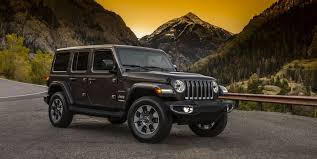 lowered 4 door jeep wrangler 2018 jeep wrangler official photos released first look at the new