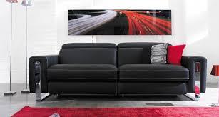 canap mobilier de canapé design en cuir relaxo mobilier de