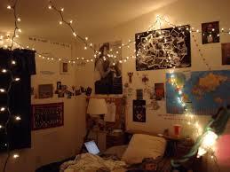 bedroom shining string lights for design indoor ideas including