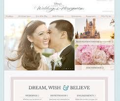 wedding site disney s fairy tale wedding s website undergoes makeover