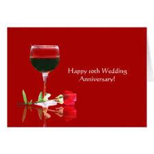 anniversaire mariage 10 ans cartes de vœux anniversaire mariage 10 ans personnalisées zazzle ca