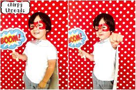 Superhero Backdrop Superhero Birthday Chirpy Threads