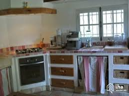 cuisine bastide location maison à bagnols en forêt iha 31271