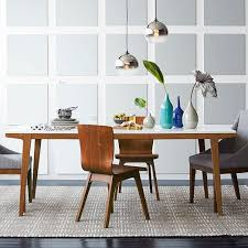 west elm white table modern expandable dining table west elm