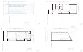 House Plan Nord Small Japanese House Apollo Architects Tokyo Floor
