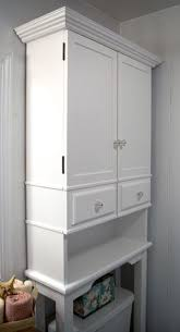 Bathroom Storage Above Toilet The Runnerduck Bathroom Cabinet Plan Is A Step By Step