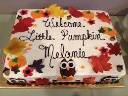 fall baby shower cake events pinterest fall baby showers