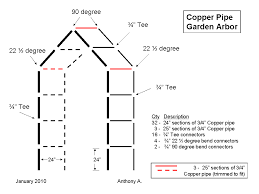 Wood Trellis Plans by Diy Metal Trellis Plans How To Make A Garden From Copper Pipe L