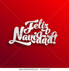 feliz navidad christmas card vector merry christmas card template greetings stock vector