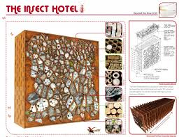 insect hotel for those curious little tikes in the backyard