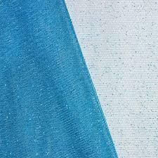 glitter tulle aqua glitter tulle fabric onlinefabricstore net