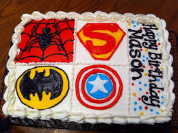 superhero 1 4 sheet cake my cakes pinterest cake cake