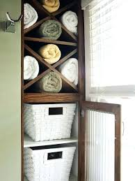 Towel Storage In Small Bathroom Bath Towel Shelves Best Bathroom Towel Storage Ideas On Storage In