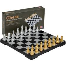 amazon com yellow mountain imports travel magnetic chess mini set
