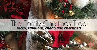 the family tree tacky fabulous and cherished a diy