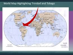 Trinidad World Map by Know Your Community Know Your World Trinidad Tobago Ramjt