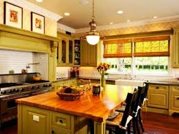 Kitchen Cabinets Green 20 Modern Kitchens Decorated In Yellow And Green Colors