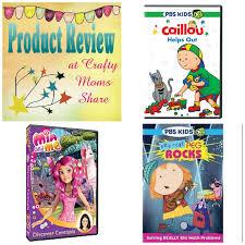 crafty moms share dvd reviews caillou helps peg cat rocks