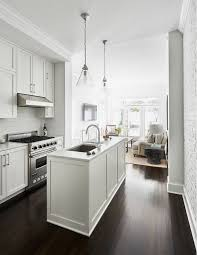 Small Narrow Kitchen Design Best 25 Small White Kitchens Ideas On Pinterest Small Kitchens
