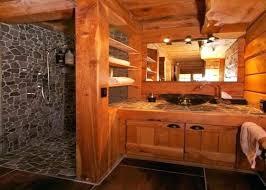 cabin bathroom ideas log cabin bathroom ideasmore like this log cabins log cabin