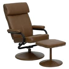 Modern Recliner Chair Andre Recliner And Ottoman Set By Lane Furniture 18534 Within