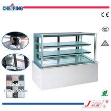 china japanic three layer janpan marble cake display refrigerator