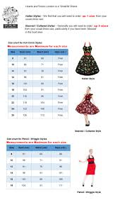 hearts u0026 roses size chart that crazy place costumes clothing