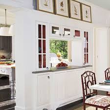 Kitchen Half Wall Ideas Kitchen Dining Room Pass Through Kitchen Pass Through Design Ideas