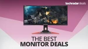 the best monitor deals for christmas 2017 techradar