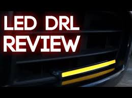 What Are Drl Lights Review Amazon Ebay Led Daytime Running Lights Youtube