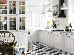 Kitchen Cabinet Doors With Glass Fronts by Black U0026 White Ikea Kitchen Kitchen Ideas Pinterest White