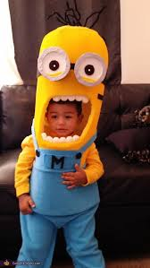 Eric Cartman Halloween Costume Homemade Minion Baby Costume
