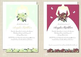 bridal invitation wording best wedding shower invitations bridal party invitations wording