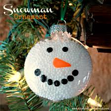 glass snowman ornaments rainforest islands ferry