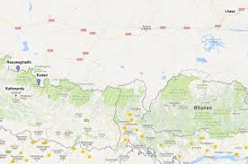 Map Of Nepal And China by In Kathmandu U0027s Support For Bri An Old Story Of India Losing
