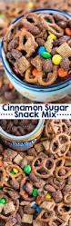 Halloween Snack Mix Recipes Cinnamon Sugar Snack Mix Crazy For Crust