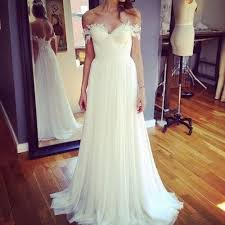 ethereal wedding dress h1529 ethereal flowy chiffon boho wedding dress