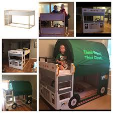 Ikea Bunk Bed Kura Kura Trash Truck Bed Ikea Hackers Ikea Hackers