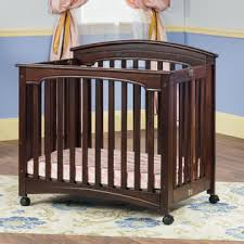 Mini Folding Crib Child Craft Stanford Mini Folding Crib And Mattress Select Cherry