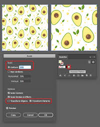 seamless pattern creator how to design a seamless avocado pattern in adobe illustrator vectips