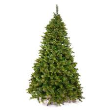 unlit christmas trees northlight 7 5 ft x 55 in mixed pine artificial