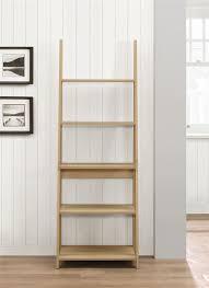 Large Ladder Bookcase Furniture Elite Large Ladder Shelf Industrial Ladder Shelf Glass