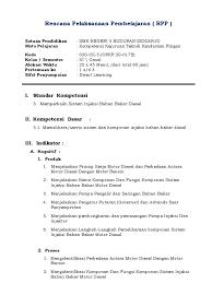 rpp sistem injeksi diesel
