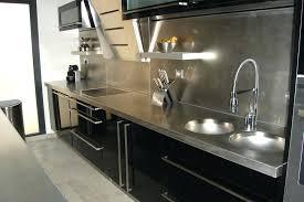 meuble cuisine inox brossé meuble cuisine en inox poignee pour meuble cuisine awesome poignee