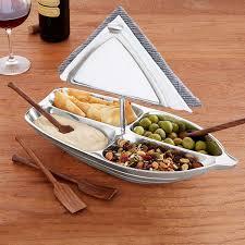 unique serving platters rowboat serving bowl with napkin holder unique hostess party